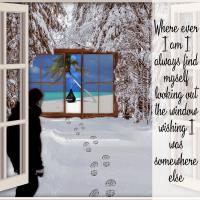 ... window to somewhere else