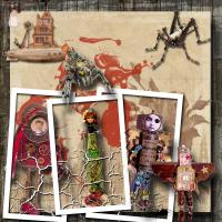Junk Dolls - Steampunk.