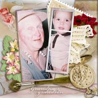 G is for Grandpa & Grandson