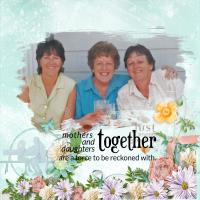 Photo Mask. (Mothers and Daughters)