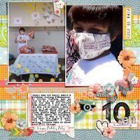 Jamie's 10th bday, quarantine style