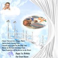 G- For Great Grandson,Baby Mason