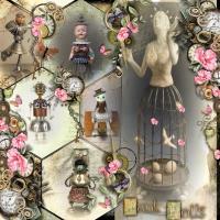 Art junk dolls
