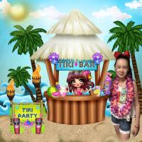 Jasmine's Tiki party