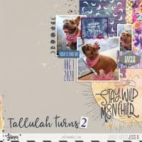 Tallulah Turns 2