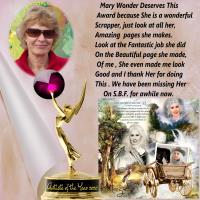 Award For Mary Wonger-2020