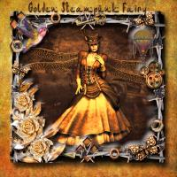 GOLDEN STEAMPUNK FAIRY
