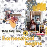 Homeschool Begins