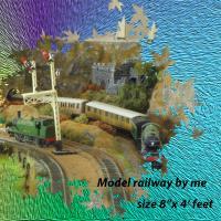 MODEL RAILWAY WOODPECKER