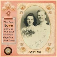 Vintage Wedding_Military