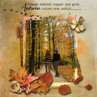 Autumn Colors Now Unfold - 2020