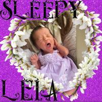 Sleepy Leia