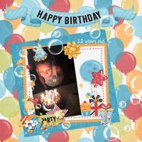 Adrian 12 Birthday