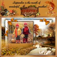 Autumn for Kids and Squirrels
